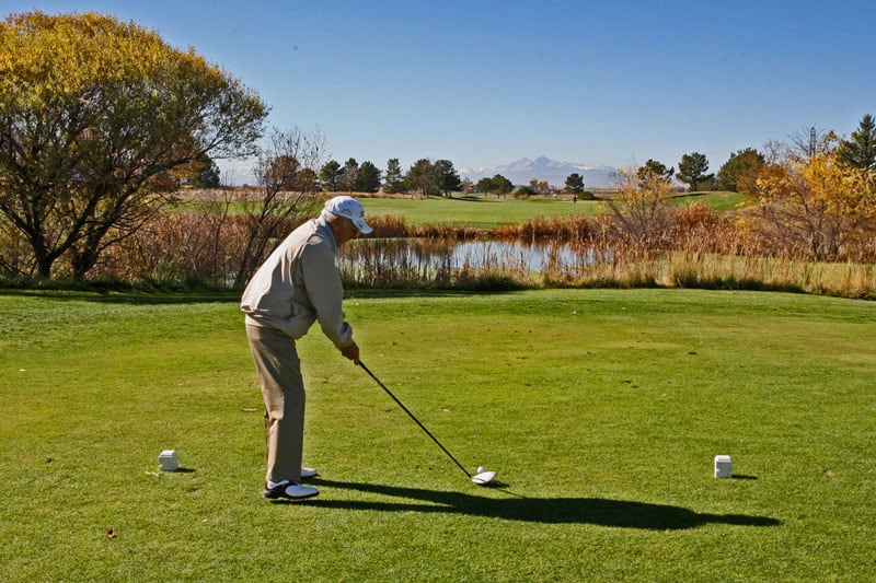 Boomerang-Golfer