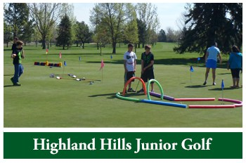 Highland Hills Junior Golf Information