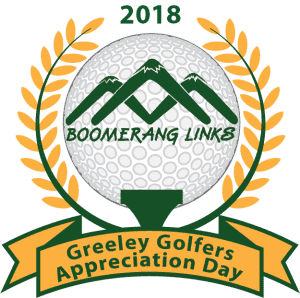 Greeley Golfers Appreciation Day @ Boomerang Links Golf Course | Greeley | Colorado | United States